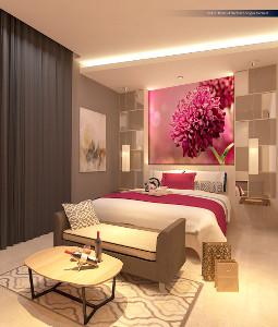 Kamar Deluxe dari favehotel Langko Mataram
