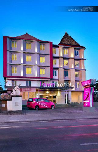 Exterior Look of favehotel Sunset Seminyak - Bali