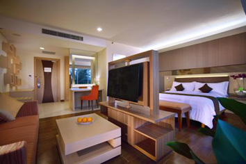 The Executive Suite Room of Aston Belitung Hotel