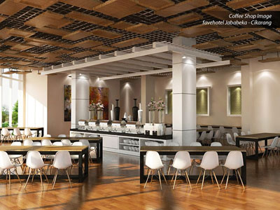 Restaurant of favehotel Jababeka – Cikarang.