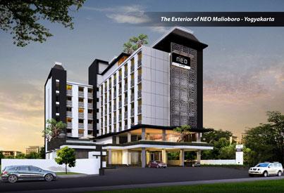 Exterior Image of Hotel NEO Malioboro - Yogyakarta