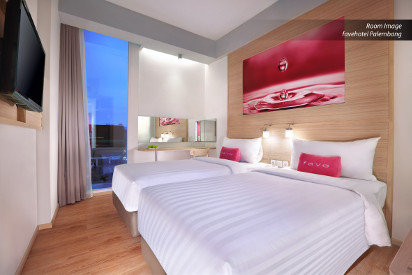 Room of favehotel Palembang.