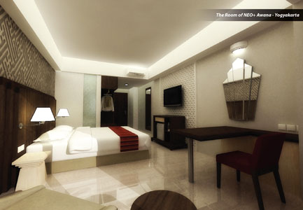 Room of Hotel NEO+ Awanna - Jogja
