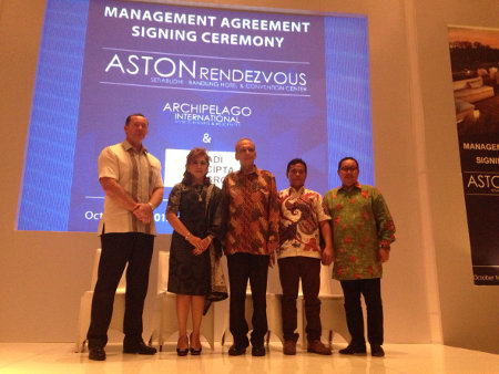 Archipelago International Signs Its Fourth Aston Hotel in Bandung
