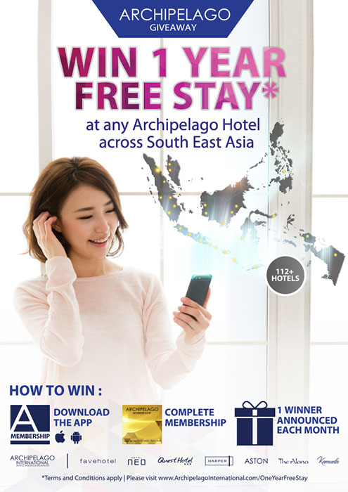 Biggest Hotel Giveaway Program in Indonesian History