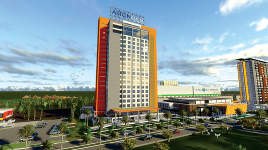 Exterior of Aston Banua Hotel & Convention Center - Banjarmasin.