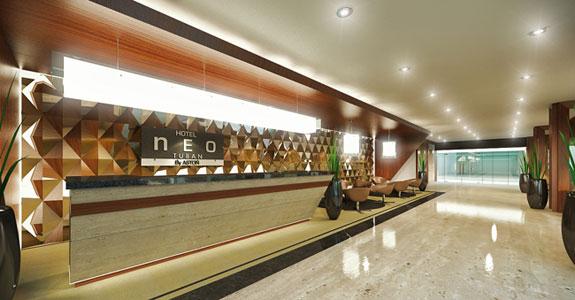 Lobby of NEO Kuta - Tuban, Bali