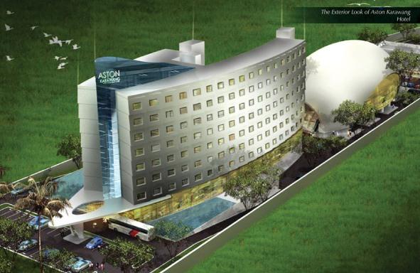 The Exterior Look of Aston Karawang Hotel