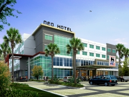Gedung Hotel favehotel Dieng - Malang