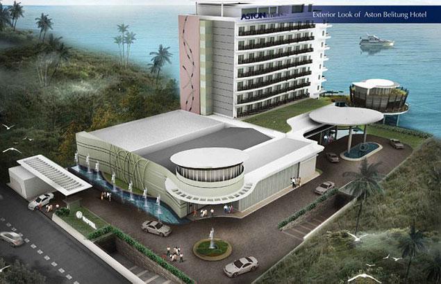 Snapshoot Topping Off Aston Belitung Hotel
