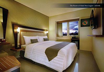 The Room of Hotel Neo Legian Jelantik Bali