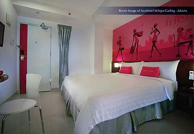 The Room of favehotel Kelapa Gading - Jakarta.
