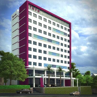 Hotel Building of favehotel Padjajaran – Bogor