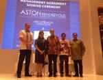 Archipelago International Menandatangani Hotel Aston Keempat di Bandung