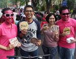 Archipelago International Memperkenalkan Koleksi Bran Kepada Masyarakat Surabaya di Car Free Day