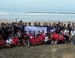 Archipelago International Mengadakan Acara Tahunan Membersihkan Pantai Di Bali
