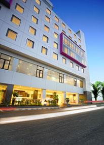 Exterior of favehotel Hyper Squre - Bandung