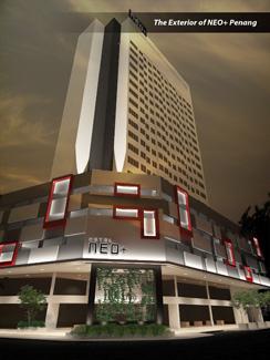 Exterior Look of Hotel NEO+ Penang
