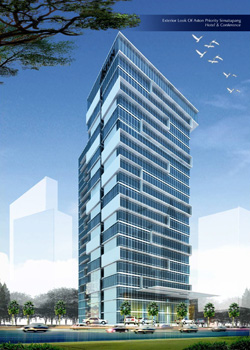 Exterior Image of Aston Priority Simatupang Hotel & Conference Center, TB Simatupang - South Jakarta.