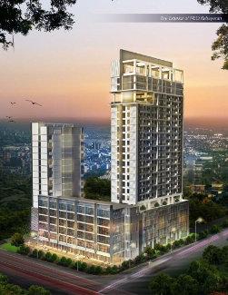 Seen in the image : The exterior of Hotel NEO Kebayoran, Jakarta