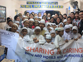 Room of favehotel Zainul Arifin - Jakarta.