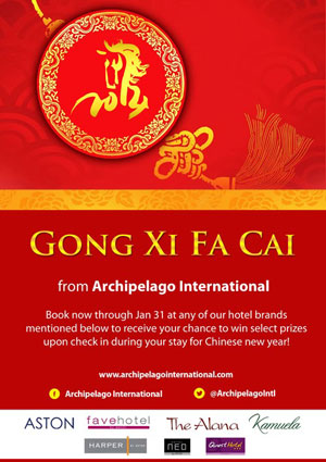 Archipelago International Celebrates Chinese New Year