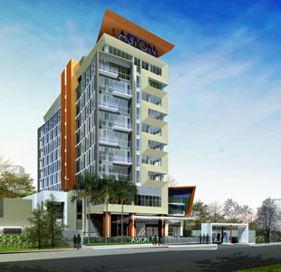 The Exterior Look of Aston Jambi Hotel & Conference Center