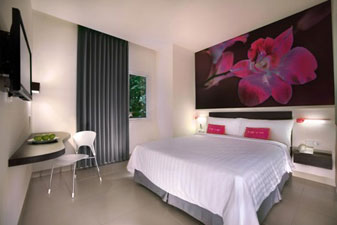 Room of favehotel Melawai – Jakarta.
