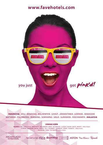 Archipelago International Launches New favehotel Get Pink'd Ad Campaign
