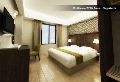Room Image of Hotel NEO+ Awana - Yogyakarta