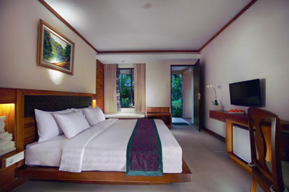 The Aston Club Bedroom of Aston Sunset Beach Resort - Gili Trawangan