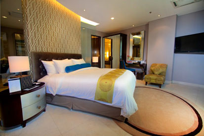 Terlihat di gambar - One Bedroom of the Grove Suites by Aston