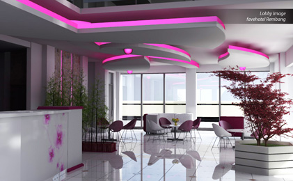 Seen in the image - Lobby Image of favehotel Rembang