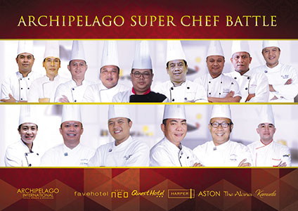 Archipelago Hotels Executive Chefs Go Head-To-Head in Super Chef Battle