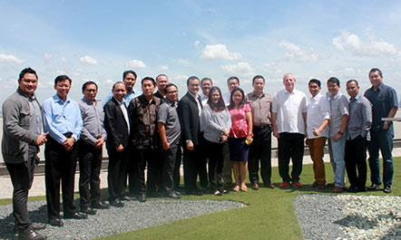 Seen in the image : All General Manager & Hotel Manager from Archipelago International taking a photo after CHA workshop.