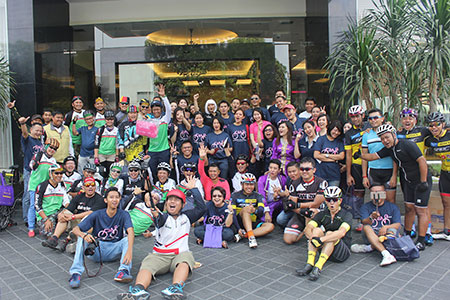 Archipelago International Showcases Its Brands to The Surabaya Community During The City Car Free Day