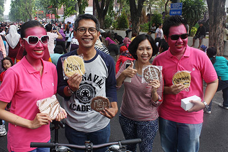 Archipelago International Showcases Its Brands to The Surabaya Community During The City's Car Free Day