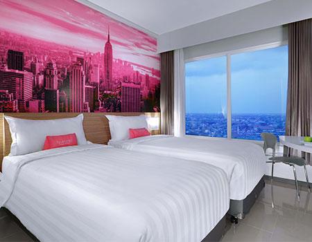 Standard Twin Room of favehotel Rungkut - Surabaya