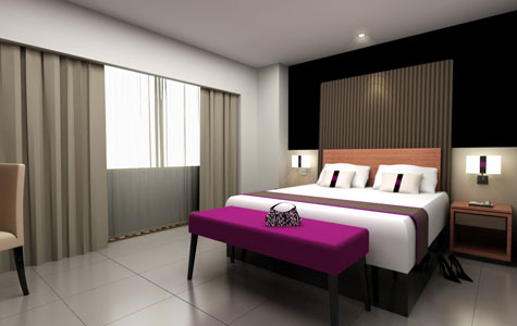 Deluxe Room of Aston Jambi Hotel & Conference Center