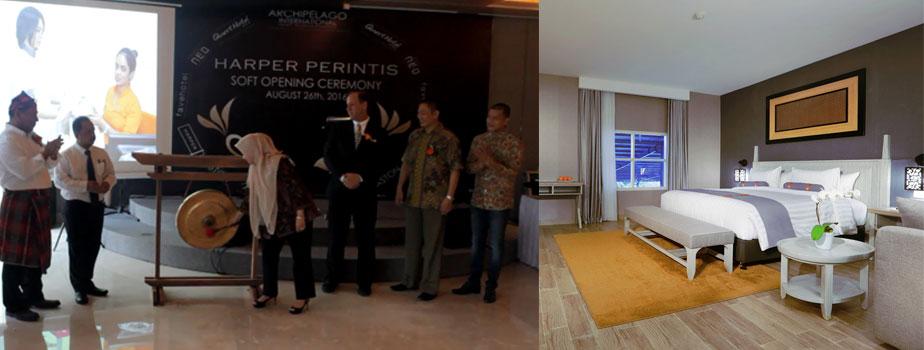 Archipelago International Menambahkan Portofolionya di Makassar dengan Pembukaan Hotel Harper Perintis