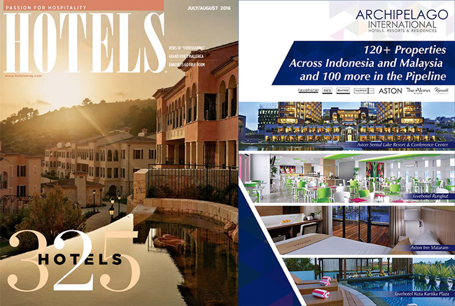 Archipelago International Ranks Among the Top 100 Largest Hotel Chains in the World
