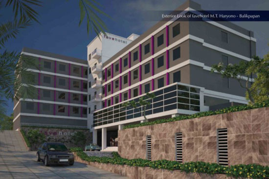 Favehotel Balikpapan exterior