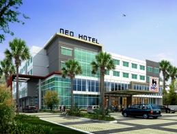 Hotel Building of Hotel NEO Candi � Semarang