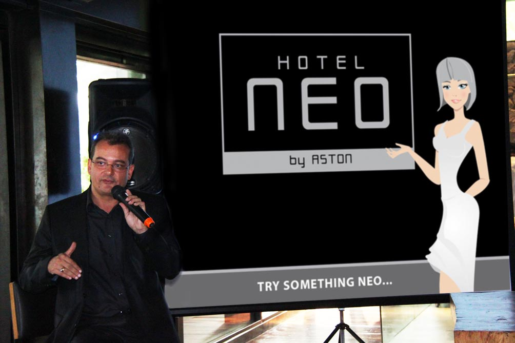 Presentation of Hotel NEO by Mr. Norbert Vas VP Sales &