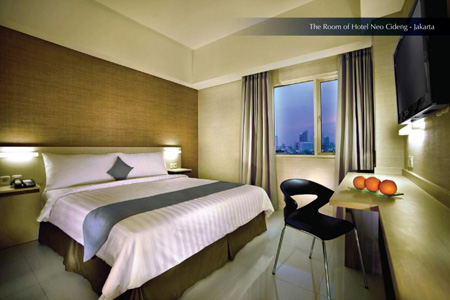 The Standard Room of Hotel Neo Cideng – Jakarta