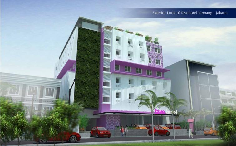 Tampak Luar favehotel Kemang - Jakarta