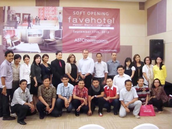 Exterior image of favehotel Pasar Baru - Jakarta