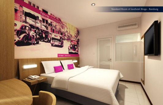 Exterior image of favehotel Braga - Bandung