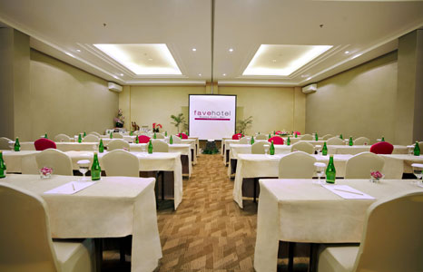 The Conference Center of favehotel Bypass Kuta