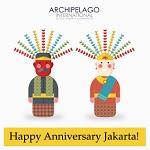 Archipelago International Merayakan Ulang Tahun Jakarta ke 491
